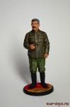 И.В.Сталин, 1939-43 гг. СССР - Оловянный солдатик коллекционная роспись 54 мм. Все оловянные солдатики расписываются художником в ручную