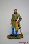 Ли 1864 - Оловянный солдатик коллекционная роспись 54 мм. Все оловянные солдатики расписываются художником в ручную