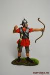 Рим. Лучник - Оловянный солдатик коллекционная роспись 54 мм. Все оловянные солдатики расписываются художником вручную