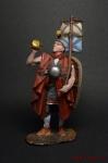 Рим. Легионер на походе 1-3 вв. н.э. - Оловянный солдатик коллекционная роспись 54 мм. Все оловянные солдатики расписываются художником вручную