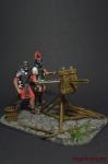 Рим. Скорпион - Оловянный солдатик коллекционная роспись 54 мм. Все оловянные солдатики расписываются художником вручную