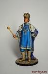 Павел 1 - Оловянный солдатик коллекционная роспись 54 мм. Все оловянные солдатики расписываются художником в ручную