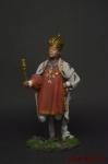 Павел 1 - Оловянный солдатик коллекционная роспись 54 мм. Все оловянные солдатики расписываются художником вручную