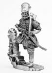 Ермак - Не крашенный оловянный солдатик. Высота 54 мм.