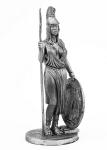 Афина - Не крашенный оловянный солдатик. Высота 54 мм