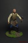 Бьерн - Оловянный солдатик коллекционная роспись 54 мм. Все оловянные солдатики расписываются художником вручную