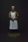 Повар - Оловянный солдатик коллекционная роспись 54 мм. Все оловянные солдатики расписываются художником вручную
