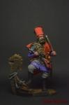 Ермак - Оловянный солдатик коллекционная роспись 54 мм. Все оловянные солдатики расписываются художником вручную
