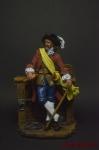 Пираты. Капитан у борта 17 век - Оловянный солдатик коллекционная роспись 54 мм. Все оловянные солдатики расписываются художником вручную