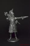 Офицер 3-го кирасирского полка 1812 - Не крашенный оловянный солдатик. Высота 54 мм