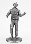 Балбес - Не крашенный оловянный солдатик. Высота 54 мм.