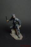 Ниндзя - Оловянный солдатик коллекционная роспись 54 мм. Все оловянные солдатики расписываются художником вручную