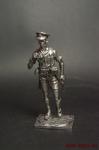Офицер 8-ой Британской армии,Африка,1941-42 - Оловянный солдатик. Чернение. Высота солдатика 54 мм