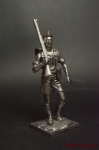 Солдат 8-ой Британской армии,Африка,1941-42 - Оловянный солдатик. Чернение. Высота солдатика 54 мм
