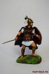 Леонид I царь Спарты - Оловянный солдатик коллекционная роспись 54 мм. Все оловянные солдатики расписываются художником в ручную