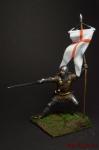 Рыцарь XIV век - Оловянный солдатик коллекционная роспись 54 мм. Все оловянные солдатики расписываются художником вручную