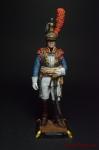 Кирасир. Франция, 1812 г. 90мм - Оловянный солдатик коллекционная роспись 90 мм. Все оловянные солдатики расписываются художником вручную