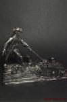 Пираты - Не крашенный оловянный солдатик. Высота 54 мм