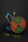 Викинг, 9-11 вв - Оловянный солдатик коллекционная роспись 54 мм. Все оловянные солдатики расписываются художником вручную