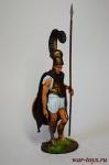 Гоплит, V в. до н.э. - Оловянный солдатик коллекционная роспись 54 мм. Все оловянные солдатики расписываются художником в ручную