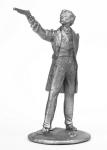Пушкин А.С. - Не крашенный оловянный солдатик. Высота 54 мм