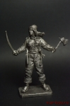 Мери Рид. 1685-1721 - Не крашенный оловянный солдатик. Высота 54 мм