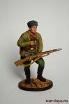 Снайпер 1047-го стрелкового полка Зайцев В., осень 1942 г. СССР - Оловянный солдатик коллекционная роспись 54 мм. Все оловянные солдатики расписываются художником в ручную