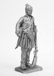 Рядовой 2-го полка легкой греческой пехоты 1813-1815 - Не крашенный оловянный солдатик. Высота 54 мм.
