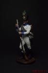 Фузилёр 4-го пехотного полка Хох унд Дойчмейстер. Австрия, 1809- - Оловянный солдатик коллекционная роспись 54 мм. Все оловянные солдатики расписываются художником вручную