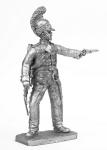 Рядовой 5 полка шеволежер-уланов Наполеона 1811-13 - Не крашенный оловянный солдатик. Высота 54 мм.