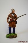 Траппер - Оловянный солдатик коллекционная роспись 54 мм. Все оловянные солдатики расписываются художником в ручную