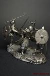 Викинги - Оловянный солдатик. Чернение. Высота солдатика 54 мм