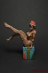 Снежана - Оловянный солдатик коллекционная роспись 54 мм. Все оловянные солдатики расписываются художником вручную