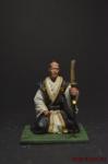 Самурай - Оловянный солдатик коллекционная роспись 54 мм. Все оловянные солдатики расписываются художником вручную