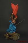 Свобода - Оловянный солдатик коллекционная роспись 54 мм. Все оловянные солдатики расписываются художником вручную