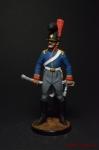 Рядовой 6-го кавалерийского полка. Португалия 1806-10 гг - Оловянный солдатик коллекционная роспись 54 мм. Все оловянные солдатики расписываются художником вручную