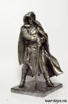 Сержант Ордена Тамплиеров 13 в. 90мм - Оловянный солдатик. Чернение. Высота солдатика 90 мм.