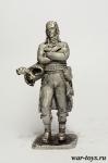 Наполеон - Оловянный солдатик. Чернение. Высота солдатика 54 мм