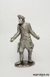 Попандопулло - Оловянный солдатик. Чернение. Высота солдатика 54 мм