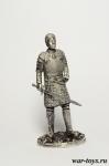 Женщина - воин - Оловянный солдатик. Чернение. Высота солдатика 54 мм