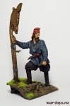 Эрик Рыжий - Оловянный солдатик коллекционная роспись 54 мм. Все оловянные солдатики расписываются художником в ручную