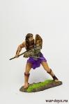 Гладиатор-ретиарий, 1-3 век - Оловянный солдатик коллекционная роспись 54 мм. Все оловянные солдатики расписываются художником в ручную
