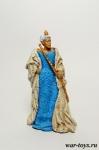 Королева - Оловянный солдатик коллекционная роспись 54 мм. Все оловянные солдатики расписываются художником в ручную