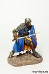 Итальянский Рыцарь - конец XIII начало XIV века - Оловянный солдатик коллекционная роспись 54 мм. Все оловянные солдатики расписываются художником в ручную