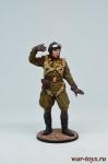 Командир эск. капитан Кирилл Евстигнеев, 1945 г.. СССР - Оловянный солдатик, роспись 54 мм. Все оловянные солдатики расписываются мастером в ручную
