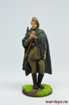 Девушка-снайпер - Оловянный солдатик коллекционная роспись 54 мм. Все оловянные солдатики расписываются художником в ручную