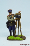 Первая мировая война. Полковой фотограф РИА - Оловянный солдатик коллекционная роспись 54 мм. Все оловянные солдатики расписываются художником в ручную
