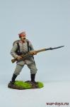 Рядовой пехотного полка, Германия, 1914 год. - Оловянный солдатик коллекционная роспись 54 мм. Все оловянные солдатики расписываются художником в ручную