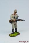 Унтер-офицер 45 пехотного полка, Германия, 1914 год. - Оловянный солдатик коллекционная роспись 54 мм. Все оловянные солдатики расписываются художником в ручную