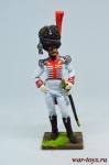 Полковник гвардии, Неаполитанское королевство. 1814 - Оловянный солдатик коллекционная роспись 54 мм. Все оловянные солдатики расписываются художником в ручную
